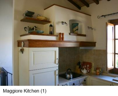 Kitchen in Holiday Apartment - Casacorvo Maggiore, Chanti