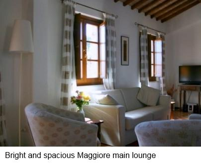 Main Lounge of Holiday Apartment - Casacorvo Maggiore, Chanti