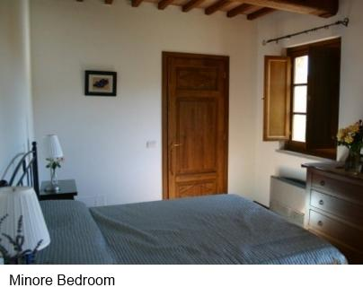 Bedroom of Holiday Apartment - Casacorvo Maggiore, Chanti