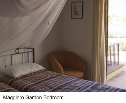 Garden Bedroom of Holiday Apartment - Casacorvo Maggiore, Chanti
