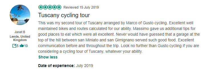 Bespoke Cycling Tour in Tuscany