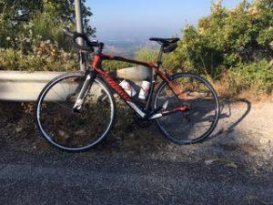 Bike hired in Tuscany