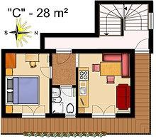 La Villa Apartment Floor Plan 3