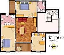 La Villa Apartment Floor Plan 2