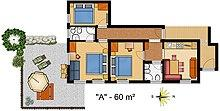 La Villa Apartment Floor Plan 1