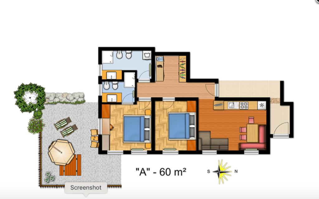 La Villa Tuscany - Self Catering Apartments - Apartment A