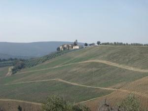 View of San Gimignano