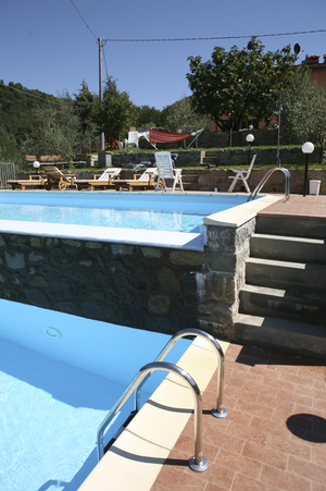 Swimming Pool At The Villa